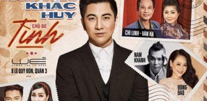 Nguyễn Khắc Huy tri ân khán giả bằng đêm nhạc 'Tình'