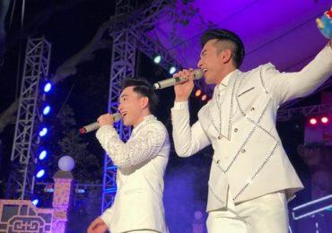 Đan Trường tích cực chạy show cùng học trò Trung Quang