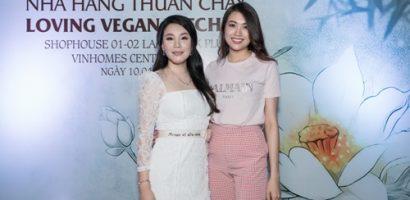 Hồ Quỳnh Hương kêu gọi ăn thuần chay để bảo vệ môi trường