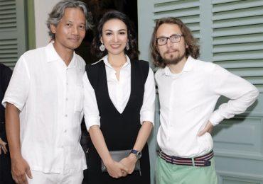 Ngọc Diễm hội ngộ nhà văn, tài tử người Pháp Lorant Deutsch tại Sài Gòn