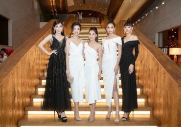 'Đại hội' các Hoa hậu trên thảm đỏ Xuân – Hè của NTK Lê Thanh Hòa