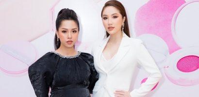 Sắp lâm bồn, Trang Pilla vẫn 'rủ' Bảo Thy đi sự kiện
