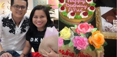 Vừa sang Mỹ định cư, Hoàng Anh làm sinh nhật cho bà xã
