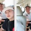 Lần đầu gặp nhau, Châu Khải Phong – Quang Hải thân thiết như anh em