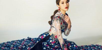 Siêu mẫu Kim Dung trở lại sau khi lấy chồng Việt kiều
