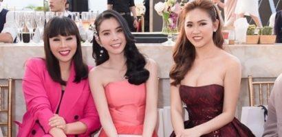 'Bộ ba' Hằng Nguyễn, Huỳnh Vy và Trúc Ny khuấy đảo thảm đỏ thời trang