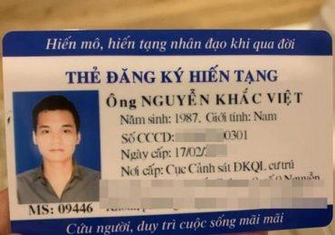Khắc Việt đăng ký hiến tạng: 'Hạnh phúc là được giúp đỡ mọi người'