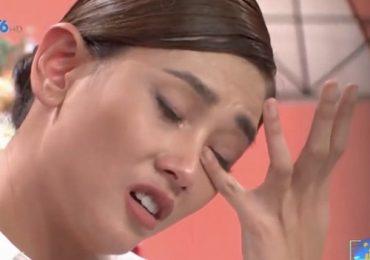 Võ Hoàng Yến khóc, thừa nhận từng yêu người có gia đình trên sóng truyền hình