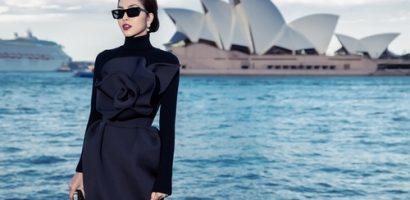 Tăng Thanh Hà trở thành tâm điểm show thời trang tại Úc