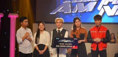 Minh Dự đánh bại Gin Tuấn Kiệt, Anh Tú giành giải thưởng 20 triệu đồng