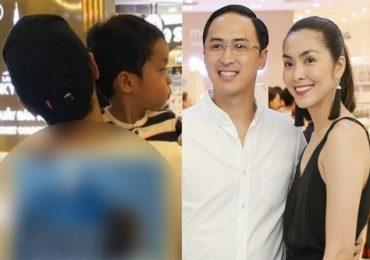 Con trai của Tăng Thanh Hà và chồng đại gia lần đầu lộ diện