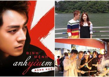 Đăng Khôi trẻ trung quay MV mới tại Hàn Quốc