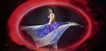 Tường Linh áp lực, tưởng hóa điên vì tập xoay 360 độ, tung váy diễn thời trang