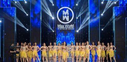 Thí sinh Miss World Việt Nam 2019 khoe 'đường cong' nóng bỏng với phần thi bikini