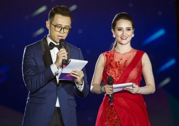 Huyền Châu rạng rỡ, làm MC cho tại Lễ hội pháo hoa Đà Nẵng