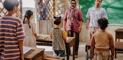 Anh thầy ngôi sao: Huyme điêu đứng trăm bề khi làm thầy giáo trên đảo hoang