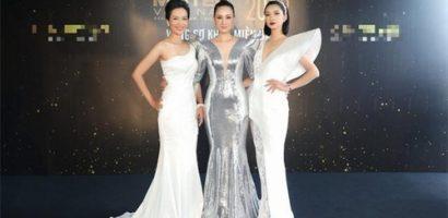 Hoa hậu Thu Thủy, Hạ Vy, Đàm Lưu Ly 'ngơ ngẩn' trước dàn trai đẹp