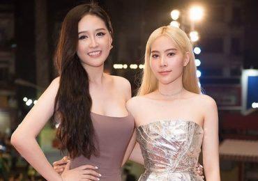 Giảm 12kg, Nam Em tự tin khoe vai trần 'đọ sắc' hoa hậu Mai Phương Thuý