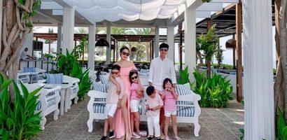 Gia đình Lý Hải đi du lịch chụp ảnh đẹp như poster phim