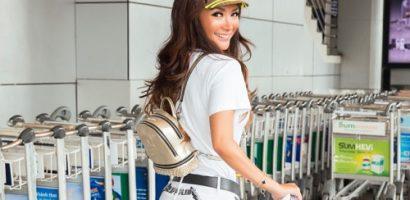 Gu thời trang sân bay của NTK gốc Việt Trisha Vũ