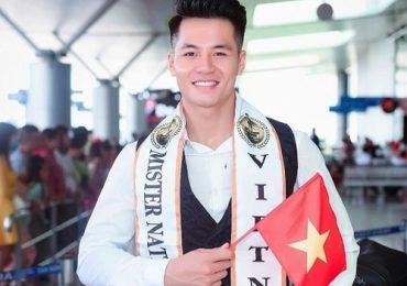 Đặng Hiếu Đức đi thi 'Mister National Universe 2019'