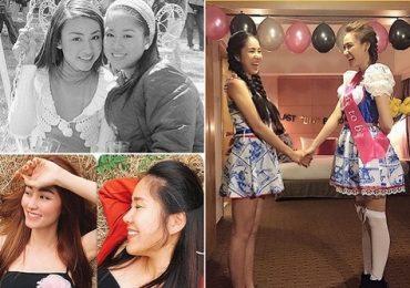 Lê Phương và Ngân Khánh cùng tình bạn đẹp suốt 10 năm