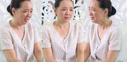 Từng chữa tuyến lệ, Hoài An làm tiếp tục khóc như mưa trong phim mới