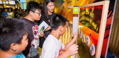 Bánh ngũ cốc Nestlé cùng 'Vua sư tử' đồng loạt ra mắt ở 4 thành phố