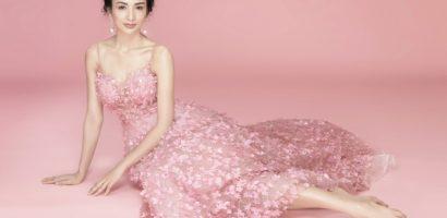 Hoa hậu Ngọc Diễm rạng rỡ đón tuổi mới
