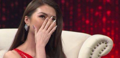 Tường Linh khóc, kể chuyện bị lừa làm người thứ ba trên sóng truyền hình