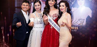 Hoa hậu Vivian Trần đọ sắc cùng cựu 'Hoa hậu siêu quốc gia' Mutya Johanna Datul
