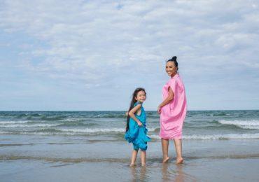Đoan Trang cùng con gái cưng điệu đà qua ống kính của chồng Tây