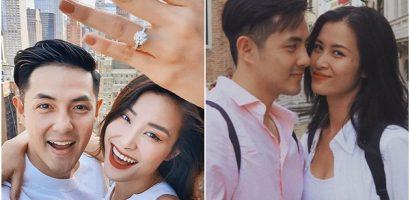 Đông Nhi khoe nhẫn cưới, nhận lời cầu hôn của Ông Cao Thắng