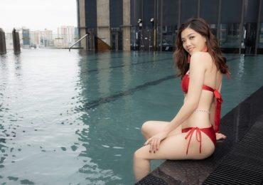 Ứng viên 'Hoa hậu Hoàn vũ Việt Nam 2019' tung ảnh bikini nuột nà
