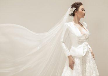 Hoa hậu Paris Vũ khoe dáng chuẩn trong loạt trang phục sắc trắng tinh khiết