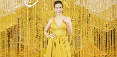 Hoa hậu Thu Hoài xuất hiện lộng lẫy tiếp đón rừng sao đến dự Beauty's Choice