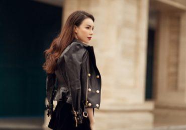 Trà Ngọc Hằng khoe gu thời trang xuống phố 'cực chất'