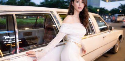 Vừa tái xuất, Khánh My đã chiếm hết sự chú ý với gu thời trang đắt đỏ