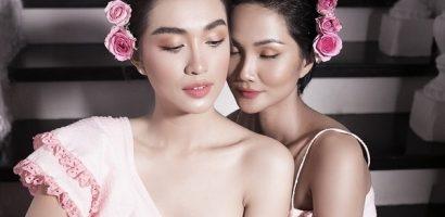 H'Hen Niê và Lệ Hằng dịu dàng với sắc hồng trong mùa hạ