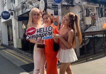 Đã mắt ngắm hội bạn thân showbiz khoe dáng tại Singapore