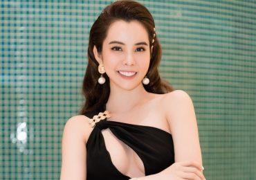 Hoa hậu Huỳnh Vy xinh đẹp rạng ngời tại sự kiện nhan sắc