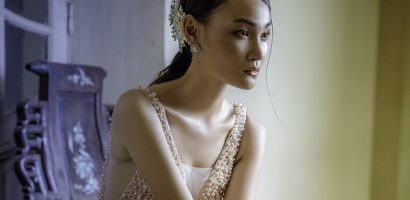 Thùy Trang Next Top mặc áo cưới xinh như mộng khiến fan giục 'cưới ngay đi'