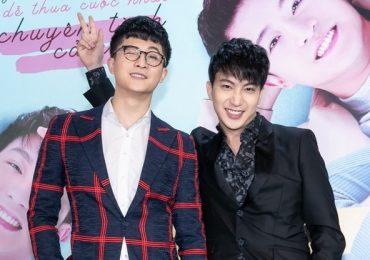 Harry Lu tái xuất điển trai, thân thiết với B Trần tại sự kiện
