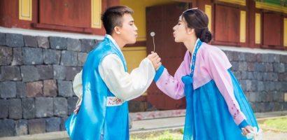 Em gái 9X của Ngọc Diễm khoe ảnh cưới lãng mạn tại Hàn Quốc