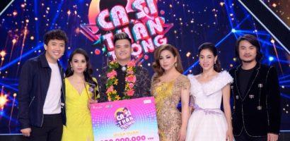 'Bản sao' Đàm Vĩnh Hưng trở thành Quán quân 'Ca sĩ thần tượng 2019'