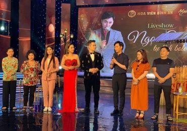 Ngọc Châu hạnh phúc khi dàn sao Việt góp mặt trong liveshow
