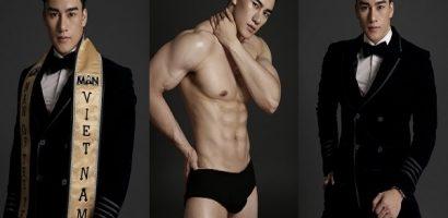 Người mẫu Tưởng Ngọc Minh khoe vẻ điển trai tựa nam thần
