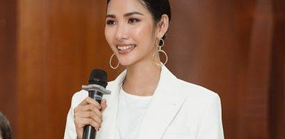 Á hậu Hoàng Thùy truyền cảm hứng sống tích cực cho giới trẻ