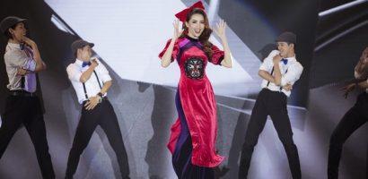 Hoa hậu Phan Thị Mơ trổ tài nhảy vũ điệu 'Cô Ba Sài Gòn'