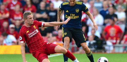 Tân binh Arsenal choáng trước sức mạnh của Liverpool